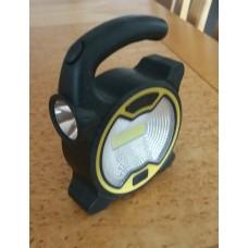 2-1 Portable Work Light , COB (160 Lumen), LED (60 Lumen)