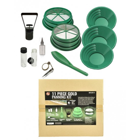 Big Prospector Kit, 11 pcs
