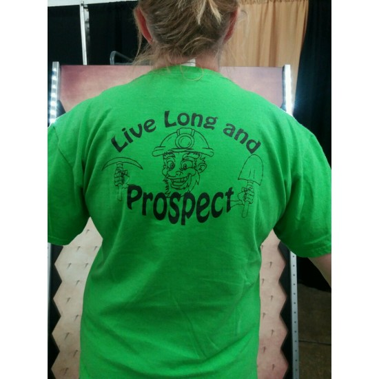 T-shirt LIVE LONG AND PROSPECT