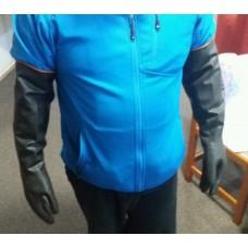Rubber gloves 55cm