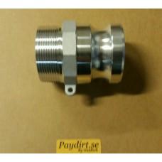 """Cam-Lock 2"""" typ""""F"""" Aluminium"""